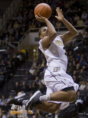 Purdue freshman P.J. Thompson is ready to face tougher competition.