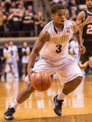 Purdue freshman P.J. Thompson gives the Boilers another capable ball-handler.