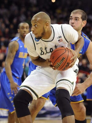 Adreian Payne scored 41 points against Delaware in this year's NCAA tournament, breaking an MSU postseason record previously held by Greg Kelser, with 34 points against Notre Dame in 1979.