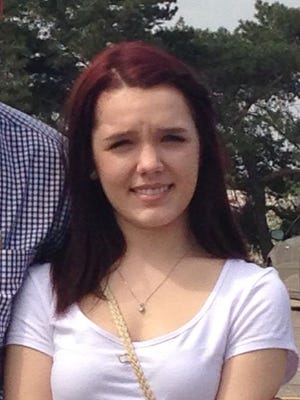 14 year old Armada resident April Millsap, spring of 2014. She was murdered July 24, 2014.