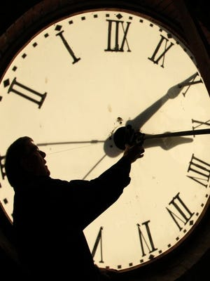 Don't forget to turn your clocks back tonight.