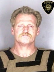 Jon Bush, 51, was sentenced to 18 years in prison in connection with with the stabbing death of his brother.
