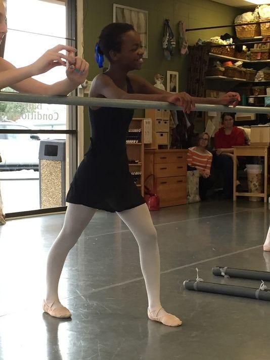 Orphan ballerina