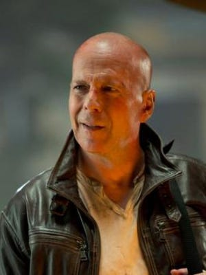 "Bruce Willis appears in a scene from the motion picture ""A Good Day to Die Hard."""