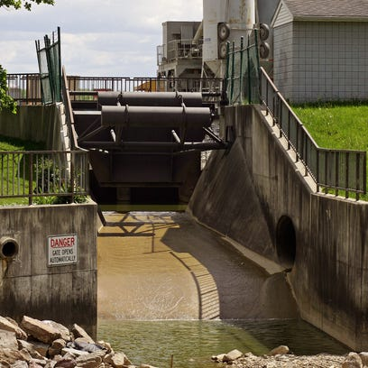 The spillway on Buckeye Lake is expected to be closed