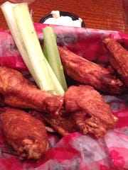 The wings at Shakey's.