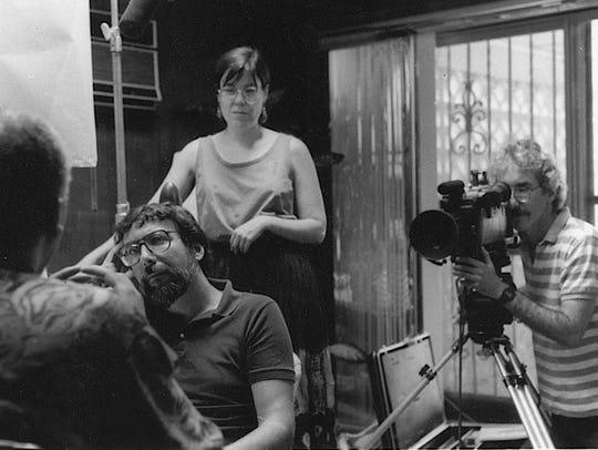 Memphis filmmakers Steve Ross (left), Allison Graham