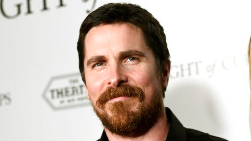 """FILE - In this March 1, 2016 file photo, Christian Bale poses at the premiere of """"Knight of Cups"""" in Los Angeles. Bale has confirmed that he will play Dick Cheney in Adam McKay's planned biopic of the former vice president."""