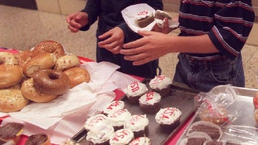 Bake sales may be making a comeback in Michigan schools