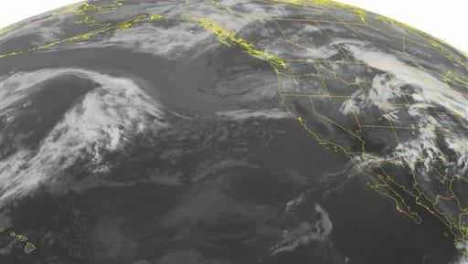 NOAA satellite image taken Monday, May 19.