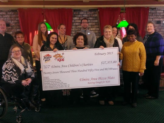 Pizza Hut's Raising Dough for Kids Foundation has been giving grants to local youth-focused organizations. The most recent $2,500 grant went to CareFirst.