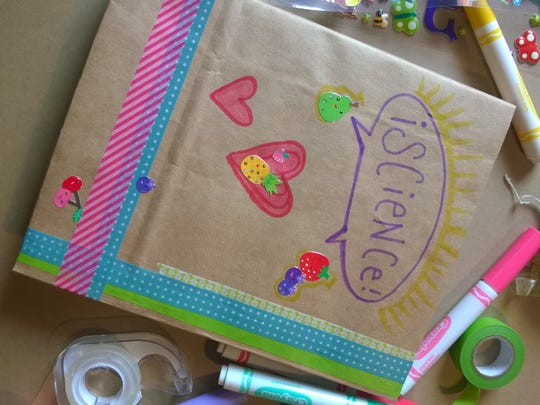Use your decorating supplies to make your book your own!