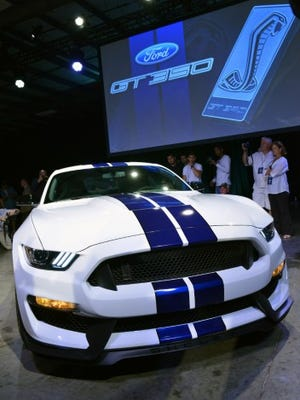Ford's 2015 Shelby GT350 Mustang