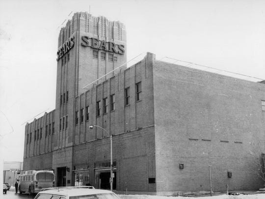 This is a vintage Sears Roebuck & Co. in Rochester,
