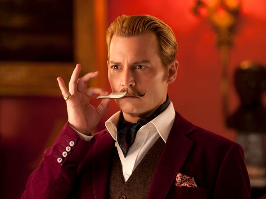 Remember Johnny Depp as 'Mortdecai'? No one else does