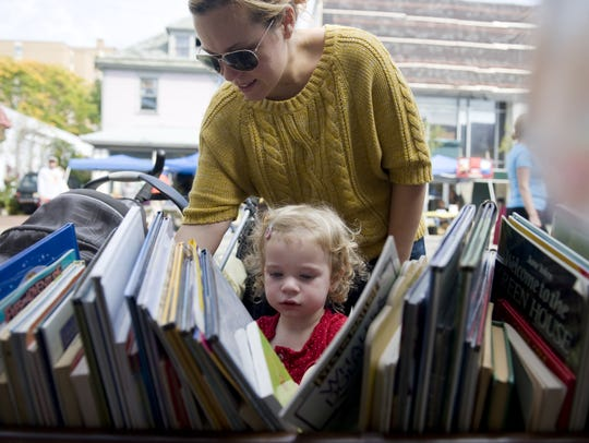 The Collingswood Book Festival features activities,