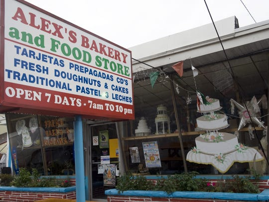 Alex's Bakery and Food Store on Ferry Avenue in Woodlynne