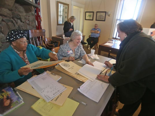 South Nyack votes