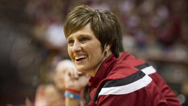 Indiana women's basketball coach Teri Moren has had plenty of reason to smile in Year 2.