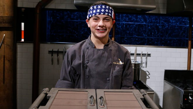 Nicholas Capone of Parsippany, as seen on Food Network's Chopped, Season 29.