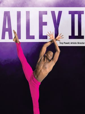 Ailey II dancing at Lincoln Center