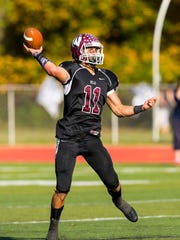 Wayne Hills quarterback Jaaron Hayek has rushed for 869 yards and 13 touchdowns, and passed for 953 yards and nine scores.