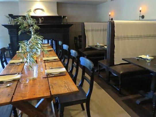 The Gathering Table restaurant inside the Ballard Inn
