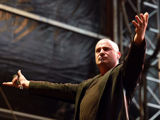 Disturbed is among the top draws at this summer's Rock