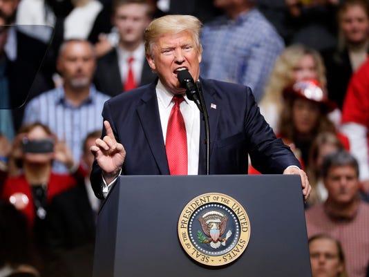 President Trump Nashville Rally