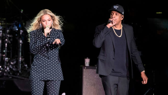 "Beyonce and Jay-Z will hit Music City on Thursday as part of their ""OTR II"" tour."
