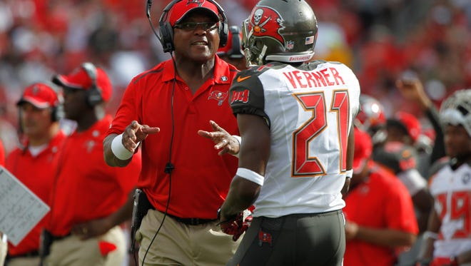 Gill Byrd last worked in the NFL for Tampa Bay in 2015.