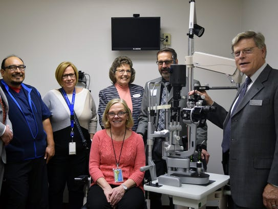 The CEI Foundation has opened a free vision clinic