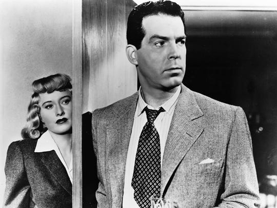 """Double Indemnity"" will play at the Elsinore Theatre at 7 p.m. Wednesday, May 9."
