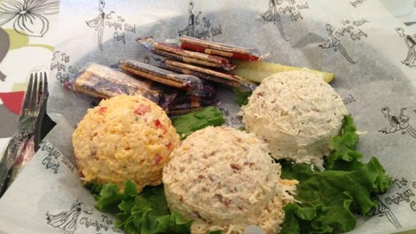 Chicken Salad Chick offers more than a dozen varieties
