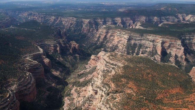 President Donald Trump announced plans to shrink Bears Ears National Monument as well as Grand Staircase-Escalante National Monument in Utah.