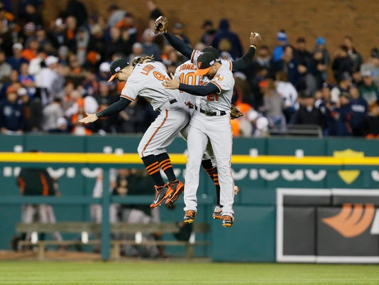 ALDS Orioles Tigers Baseball