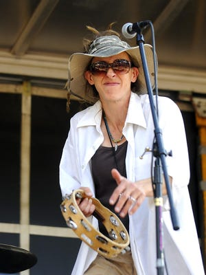 Stacy Bauer performs Sunday with the Pachanga Society at the Millstream Arts Festival.