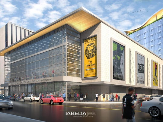 The $130 million proposal from RBTL and developer Robert Morgan would sit on Midtown's Parcel 5.