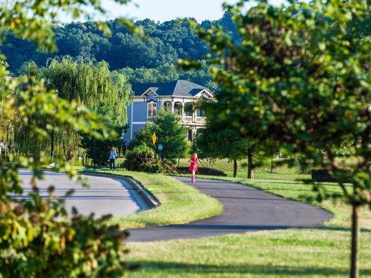 Westhaven is designed to be walkable neighborhood where