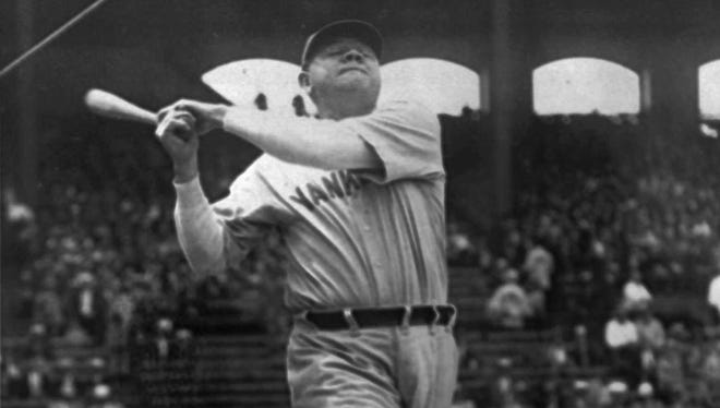 """<p>NO. 9. """"The Tumult and the Shouting: My Life in Sport"""" by Grantland Rice. The most famous sportswriter of the early 20th century, Rice turned athletes like Babe Ruth, Jack Dempsey and Notre Dame's """"Four Horsemen"""" into cultural icons. He describes here how he did it and what those days were like.</p>"""