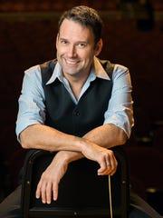 Conductor Bob Moody is in his ninth season as artistic