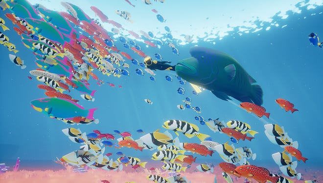 Abzu's underwater world teems with all sorts of life.
