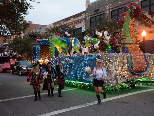 Fiesta of Five Flag Parade