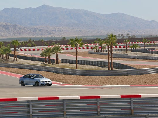 Thermal Club motorsports track partners with BMW