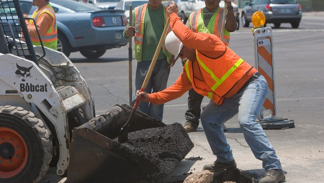 Phoenix residents want to know when their streets will be repaired.