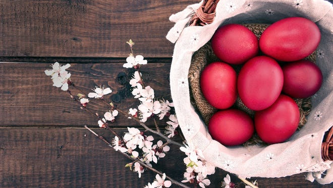 The celebration of Easter is marked by feasting throughout Christianity when offerings of special foods are prepared for the celebration of ttew holiday.