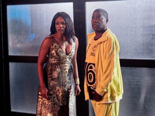 Tiffany Haddish as Shay and Tracy Morgan as Tray on