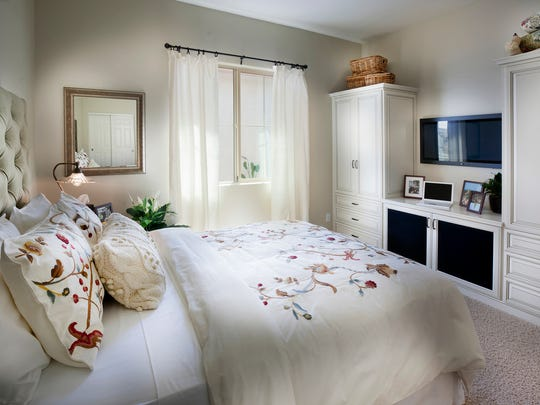 A bedroom in the Lennar NextGen home - The Evolution.
