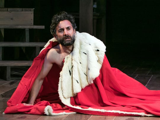 Robert Cecil (Dominic Comperatore) is pushed to the