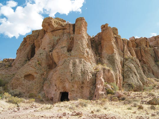Unexpected formations loom along Monolith Garden Trail.